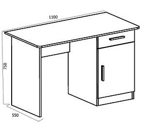 Стол компьютерный Школьник -3 , фото 2