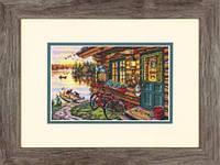"""70-65161 Набор для вышивания крестом DIMENSIONS Cabin View """"Домик с видом"""""""