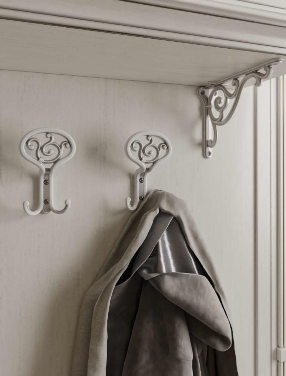 Красивые мебельные крючки для одежды в прихожую