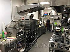 Вытяжной зонт для ресторана пристенный 1500/800/400 мм