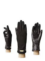 Женские перчатки кожаные черные HP09123