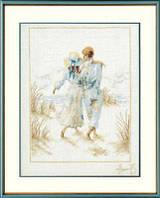 "PN-0007948 Набор для вышивки крестом LanArte Romantic Couple ""Романтичная пара"""