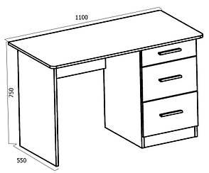 Стол компьютерный Школьник - 4, фото 2