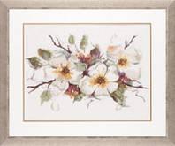 """PN-0008051 Набор для вышивки крестом LanArte Apple Blossom """"Цветение яблони"""""""