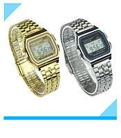 Электронные часы золотой или серебряный цвет Montana