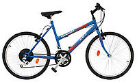 """ХВЗ Велосипед подростковый 24"""" TEENAGER модель 47 сине-красный"""