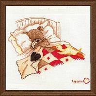 """PN-0011190 Набор для вышивки крестом Vervaco Cuddle up """"Сладкий сон"""""""