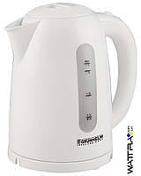 ⭐ Чайник электрический (1,7 л) GRUNHELM EKP-2217 C (белый)  2200 Вт, дисковий электрочайник