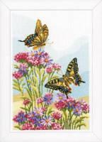 """PN-0156329 Набір для вишивки хрестом Vervaco Swallowtails """"Метелик-вітрильник"""""""