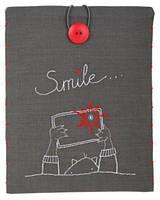 """PN-0156718 Набор для вышивки гладью Vervaco Чехол для планшета """"Smile"""""""