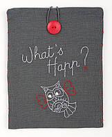 "PN-0156719 Набор для вышивки гладью Vervaco Чехол для планшета ""What's Happ"""