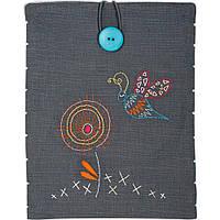 """PN-0156734 Набор для вышивки гладью Vervaco Чехол для планшета Stylized dragonfly """"Стилизованная стрекоза"""""""