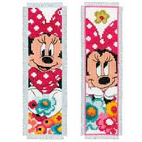 "PN-0168651 Набор для вышивки крестом Vervaco Закладка ""Minnie Mouse"""