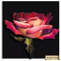 """PT150005 Набор для создания объемной картины из бумаги (папертоль) """"Роза на рассвете"""""""