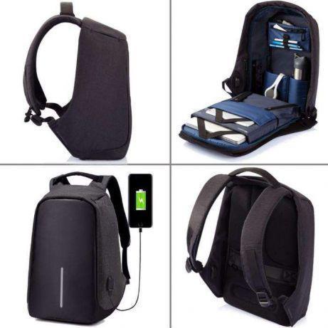 Рюкзак городской Bobby антивор c защитой, выход USB
