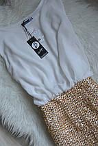 Новое контрастное платье Boohoo, фото 3