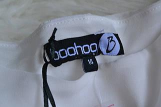 Новое контрастное платье Boohoo, фото 2