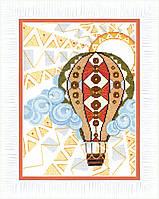 """ВТ-185 Набор для вышивания крестом Crystal Art """"Путешествие в облаках"""""""