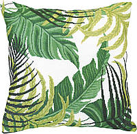 """ВТ-198 Набор для вышивания подушки крестиком Crystal Art Серия """"Тропические листья"""""""
