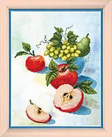 """ВТ-502 Набор для частичной вышивки крестиком Crystal Art """"Акварельные яблочки"""""""