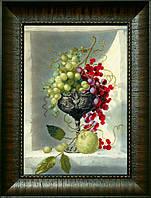 """ВТ-524 Набор для частичной вышивки крестиком Crystal Art """"Ароматные фрукты"""""""
