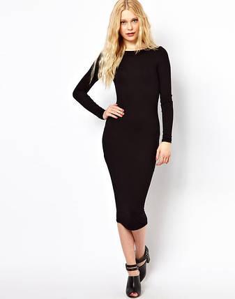 Новое облегающее платье миди с длинными рукавами Atmosphere, фото 2