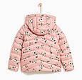 Розовая куртка с цветами для девочки Zara Испания Размер 122, 134, фото 2
