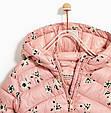 Розовая куртка с цветами для девочки Zara Испания Размер 122, 134, фото 5