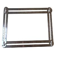 Шаблометр чотиристоронній металевий №454