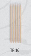Деревянные палочки для маникюра La Rosa 16 TR