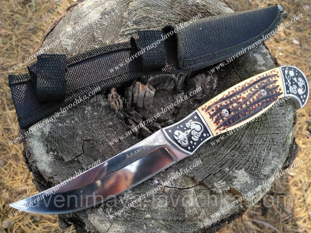 Нож охотничий FB 269 Крокодил, прочный, надежный