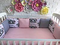 Защита в кроватку, бортики подушки «Малышка коала»