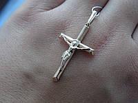 Срібний позолочений хрест, фото 1