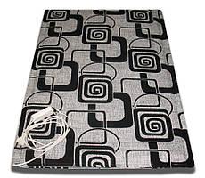 Мобильный теплый пол для ванной \ Влагозащищенный теплый коврик для ванной