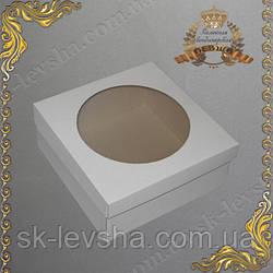Коробка для торта, чизкейка 250*250*110 гофрокартон