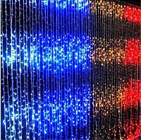 Гирлянда Водопад 3x2м 320 LED прозрачный провод