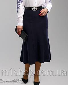 Женская расклешенная классическая юбка-миди больших размеров (1988 svt)
