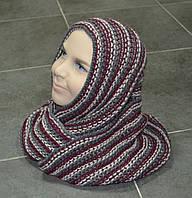 Шарф-хомут зимний для девочки (AJS, Польша)