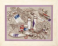 """Набор для вышивки крестиком Чарівна Мить М-296 Серия """"Творческое вдохновение"""""""