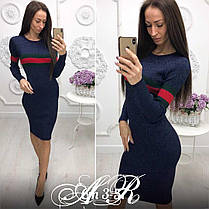 Восхитительное платье в стиле GUCCI , размер единый 42-46, фото 3