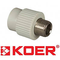 Муфта с наружней резьбой 20x3/4 Koer K0095.PRO