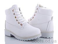 """Ботинки """"Zoom"""" № XBY01 white (р. 31-36).Оптом."""