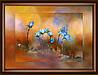 """Набор картина стразами Crystal Art КС-1069 """"Лесные цветы"""""""