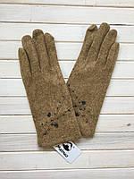 Перчатки женские кашемировые, теплые, шерстяные
