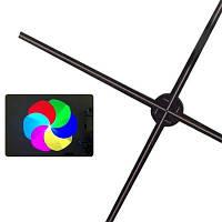 Utorch FY3D - Z5 1 м светодиодная голографическая машина для рекламы вентиляторов - Чёрный