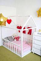 Детская кроватка Домик Напольная S