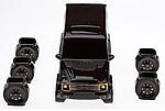 Штоф, набор для спиртного Mercedes (Мерседес Гелик), фото 2