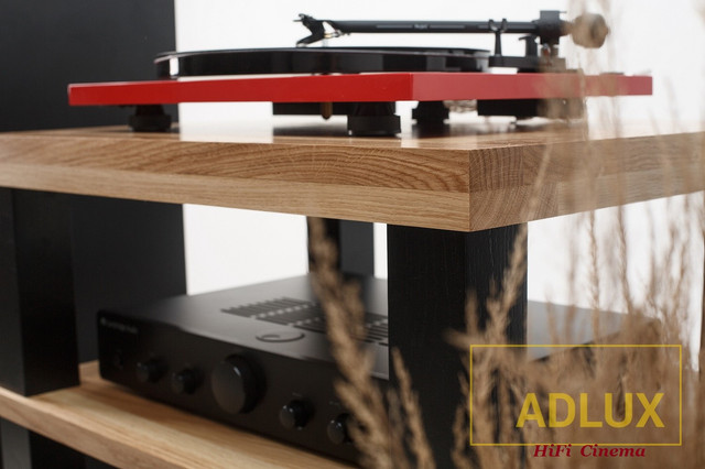 ADLux Tower AV-4-600-A-BL HiFi Stand (Turntable)