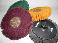 Круги лепестковые шлифовальные из нетканого полотна