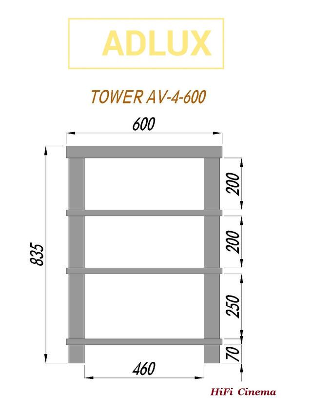 ADLux Tower AV-4-600 Technical Data